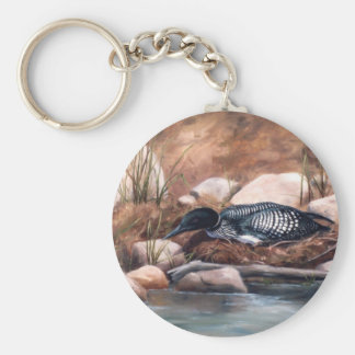 Nesting Time Keychain