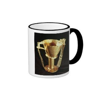 Nestor's cup, Mycenae, c.1550-1500 BC Ringer Coffee Mug