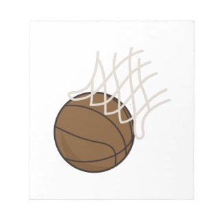 Net and Basketball Note Pads