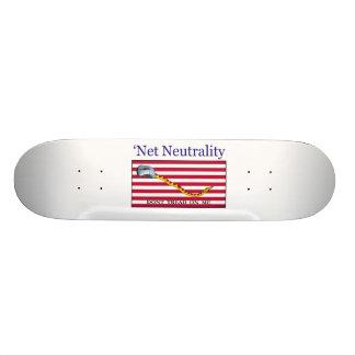 Net Neutrality - Don t Tread On Me Skateboard Deck