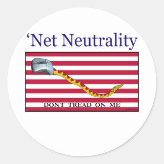 Net Neutrality - Don t Tread On Me Stickers