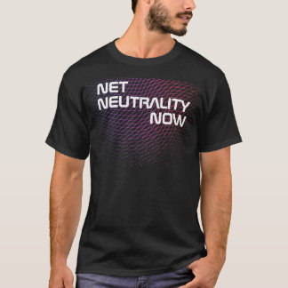 Net Neutrality Now with Netting T-Shirt