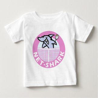 net-shark-pink baby T-Shirt
