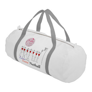 Netball and Positions Ball Design Gym Bag
