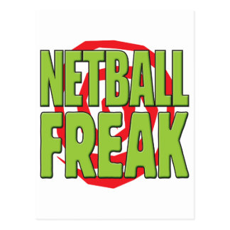 Netball Freak G Postcard