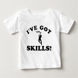 Netball skills Vector Designs Baby T-Shirt