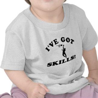 Netball skills Vector Designs Shirt