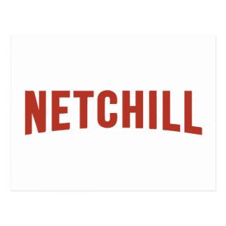 NETCHILL NETFLIX POSTCARD