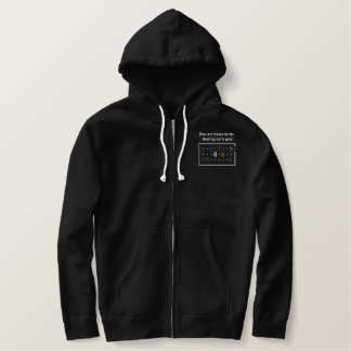 Nethack Floating Eye Embroidered Hoodie
