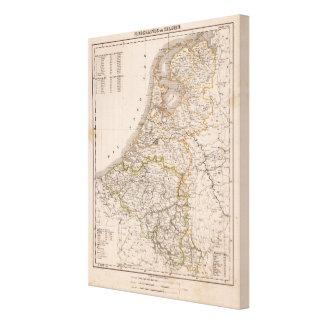 Netherland, Belgium Canvas Print