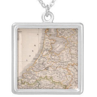 Netherland, Belgium Silver Plated Necklace