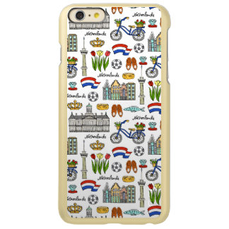 Netherland Doodle Pattern iPhone 6 Plus Case