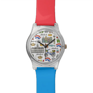 Netherland Doodle Pattern Watch