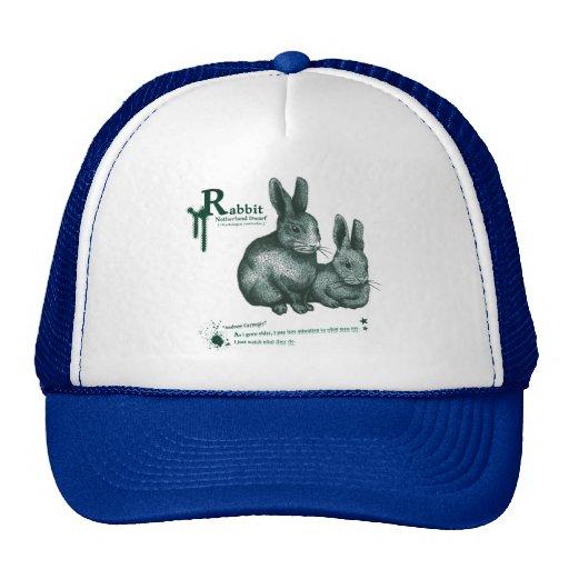 Netherland Dwarf: Rabbit - ink Hats
