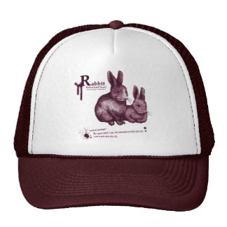 Netherland Dwarf Rabbit -jam トラッカーハット