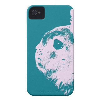 Netherland dwarf rabbit teal Case-Mate iPhone 4 case