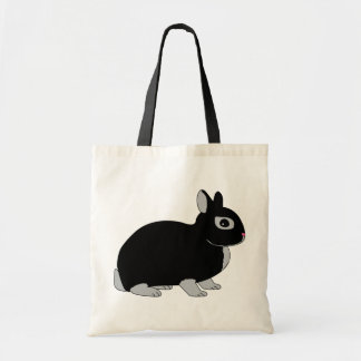 Netherland Dwarf Rabbit Tote Bag