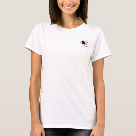 Netherland Dwarfs - PINK HEART T-Shirt