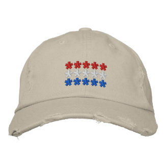 Netherland Flag Embroidered Hat