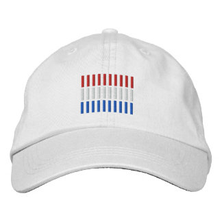 Netherland Flag Embroidery Embroidered Hat