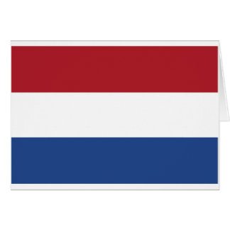 Netherland Holland Patriotic Pattern Card