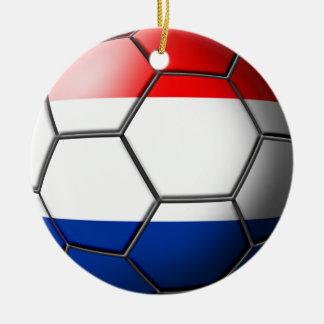 Netherland Soccer Ornament
