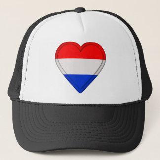 Netherlander Netherlands Dutch Holland flag Trucker Hat