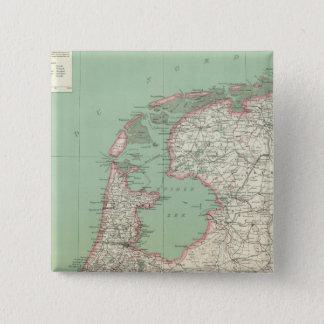Netherlands 15 Cm Square Badge