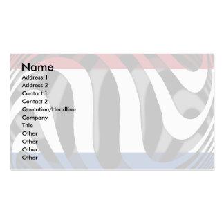 Netherlands #1 pack of standard business cards