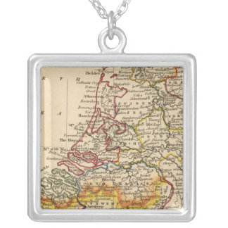 Netherlands 3 silver plated necklace