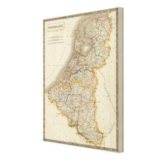 Netherlands 4 canvas print