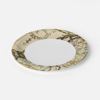 Netherlands 4 paper plate