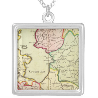 Netherlands 4 silver plated necklace