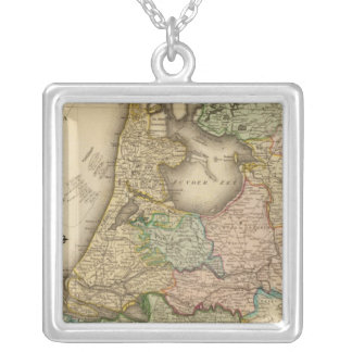 Netherlands 5 silver plated necklace