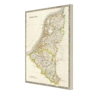 Netherlands 6 canvas print