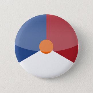 netherlands 6 cm round badge