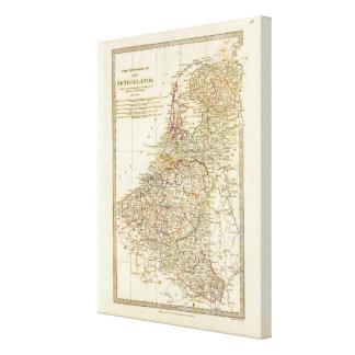 Netherlands 7 canvas print