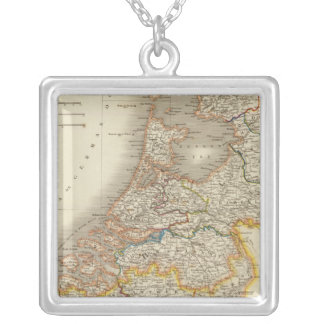 Netherlands 7 silver plated necklace