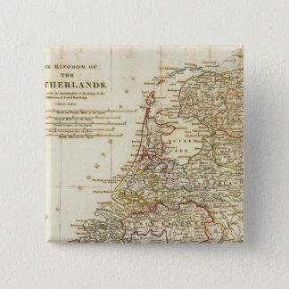 Netherlands 9 15 cm square badge