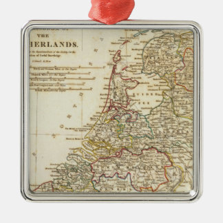 Netherlands 9 Silver-Colored square decoration