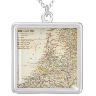 Netherlands 9 silver plated necklace