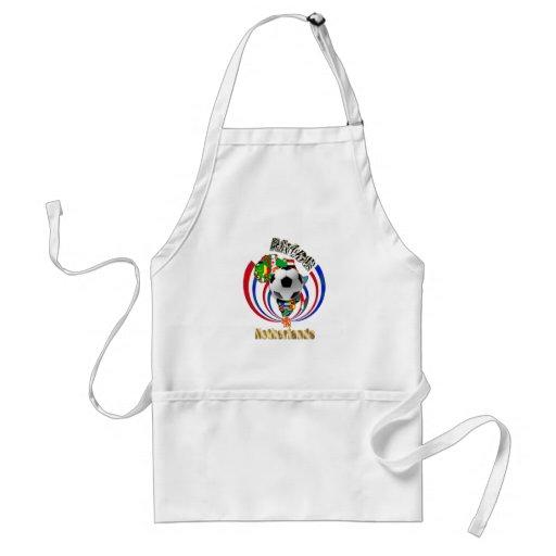 Netherlands Africa Oranje Soccer Ball Gifts Apron