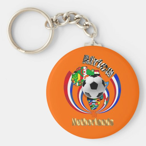 Netherlands Africa Oranje Soccer Ball Gifts Key Chains