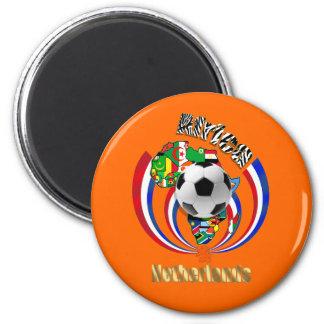 Netherlands Africa Oranje Soccer Ball Gifts Refrigerator Magnets