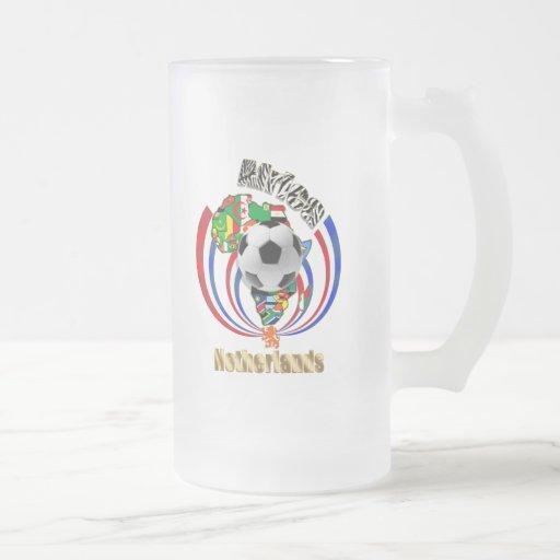 Netherlands Africa Oranje Soccer Ball Gifts Coffee Mug