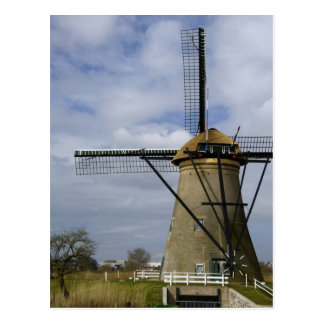 Netherlands (aka Holland), Kinderdijk. 19 Postcard