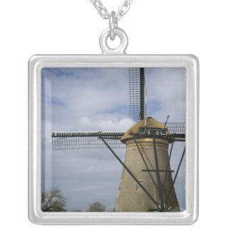 Netherlands (aka Holland), Kinderdijk. 19 Silver Plated Necklace
