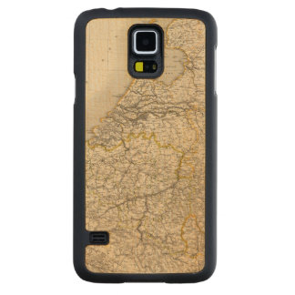 Netherlands and Belgium 2 Carved Maple Galaxy S5 Case