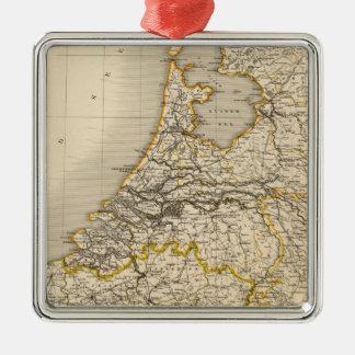 Netherlands and Belgium 2 Christmas Ornament