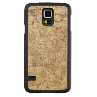 Netherlands and Belgium 3 Carved Maple Galaxy S5 Case